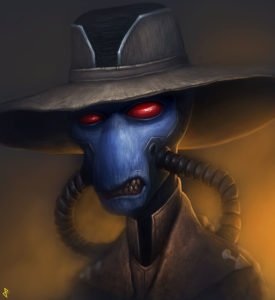 Bounty Hunter, Cad Bane from Star Wars