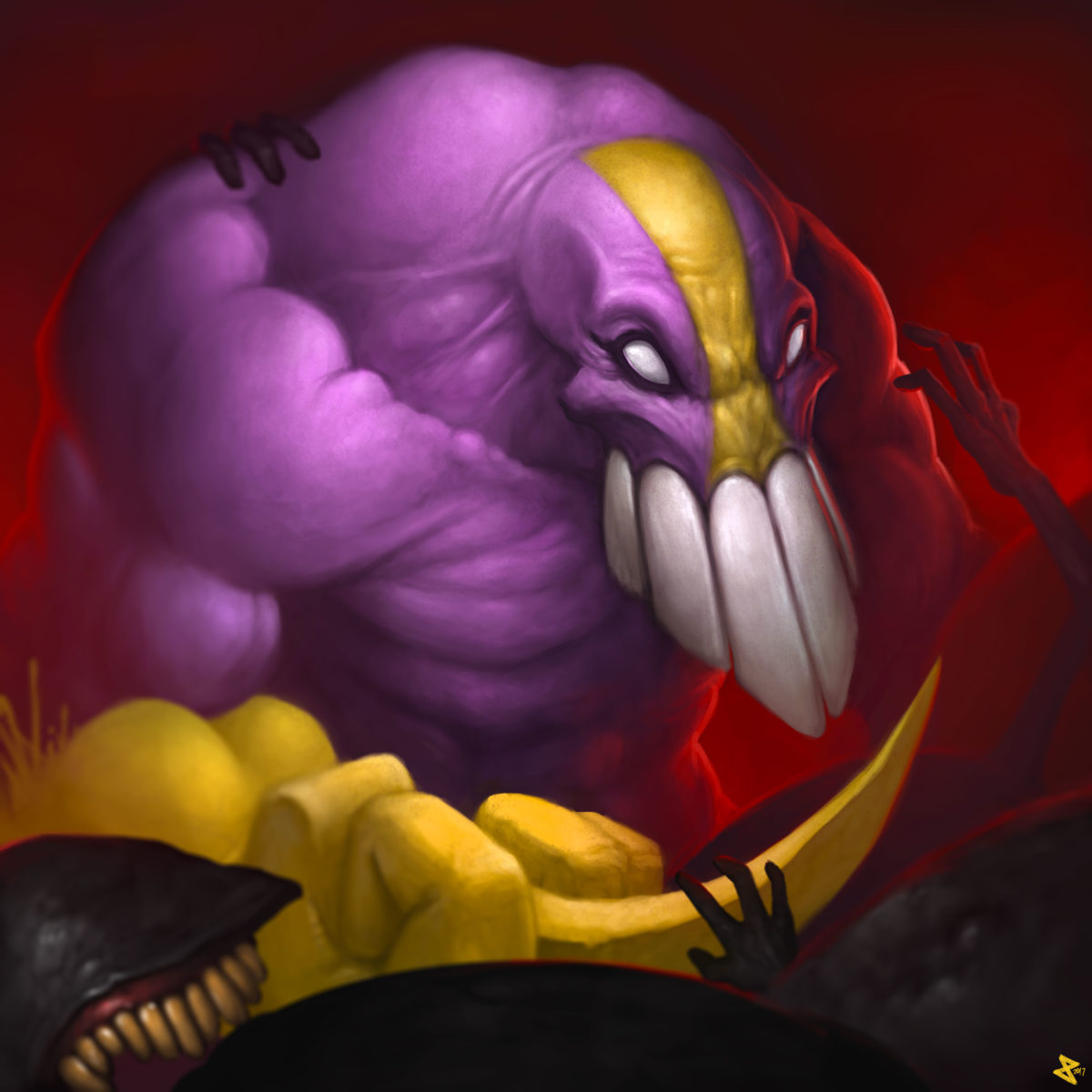 The Maxx fighting Isz